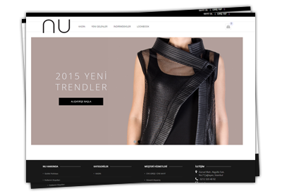 CA Internet Technology - Nu Fashion - Online Shop yayına girdi.